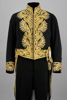 Ambassador uniform for gala, German empire.