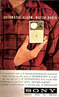SONY ADVERTISEMENT: 1962