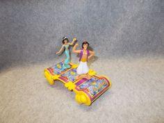 Disney Aladdin Princess Jasmine Toy Figures Cake Topper Magic Carpet Car | eBay