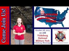 Celebrating America's Freedom Event - Vicksburg National Military Park - Published on Oct 3, 2013 The Ladies Auxiliary to the VFW welcomes you to join in the festivities for the upcoming Celebrating America's Freedom event on October 28, 2013. Catch a glimpse of the USS Cairo at the Vicksburg National Military Park here in this video!