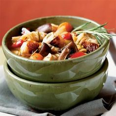 Roasted Vegetable-Rosemary Chicken Soup | MyRecipes.com