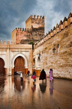 Vieux Méchouar in #Fez, Morocco