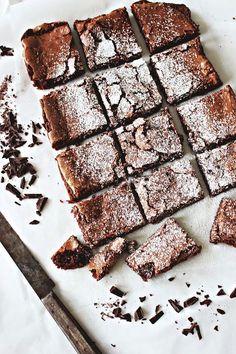 "Brownies de chocolate de Sin hornear Por ""dulces Bakeless Fe Durand"" / brownie de chocolate de pecado horneado de ""por fe Dulces Bakeless Escritos ..."