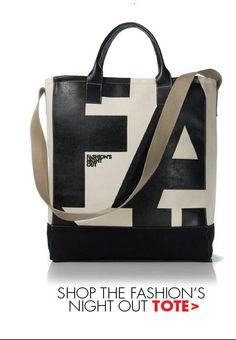 Fashion's Night Out Tote-available at Monkee's. Call 804-360-4660