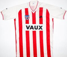 1985-86 Sunderland Home Shirt [ #7 Gayle] The first Nike sponsor clubs in Europe.