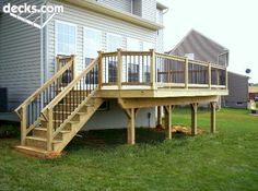 Mid Elevation Deck Picture Gallery- simple
