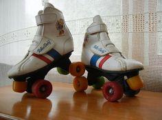 My first skates- Rainbow Brite