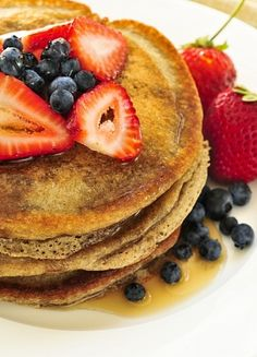 I love Buckwheat Pancakes! Gluten-free recipe