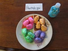 2013: PeepPlate.gov.  The new food standards in Peep World
