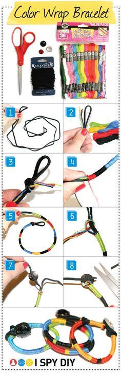 Color Wrap Bracelet