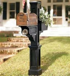 mail box ideas on pinterest boxes mailbox garden - Decorative Mailboxes