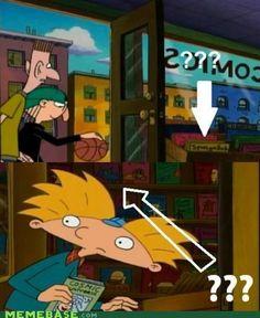 Hey Arnold! Foreshadowing Spongebob square pants & catdog
