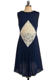 Weave Come So Far Dress   Mod Retro Vintage Printed Dresses   ModCloth.com
