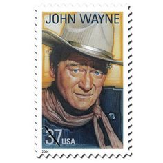 postag stamp, postal, john wayne, john duke, stamps
