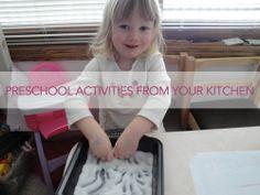 Preschool Kitchen Fun