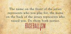 Remember the name #softball