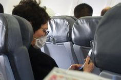 ways to avoid germs on a plane