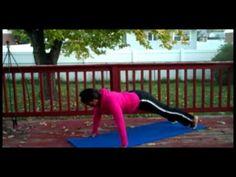 Plank Walk into Push-ups Pyramid