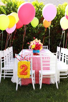 Playful and Girly Sesame Street Themed Birthday Party