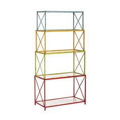 4-Pc. Rainbow Stacking Shelf | dotandbo.com