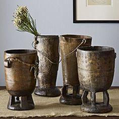 wooden vessels