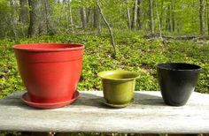 Lightweight pots made from rice!