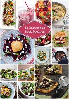 14 delicious beet recipes on Rainbow Delicious.