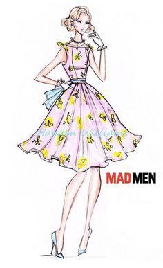 Hayden Williams for Mad Men collection: Design #1