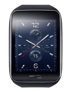 The black Samsung Gear S.