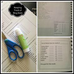 Blogger Resource: Keep Track of Your Blog Stats with Free Printable