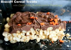 Biscoff Cereal with Chocolate Frosting - the classic just gets better!