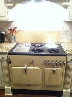 My grandmother's restored 1920's Chambers stove