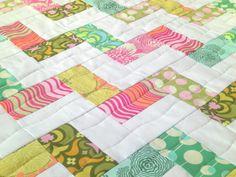 Baby Quilt Blanket, Quiltsy, Newborn Baby Gift, Crib Quilt