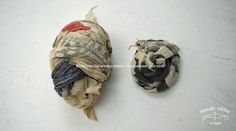 Tamaki Niime's hand-woven, hand-dyed scarf