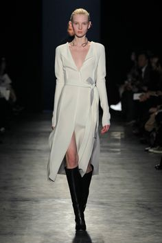 Altuzarra F/W 2014 • 'Plath' Dress in White