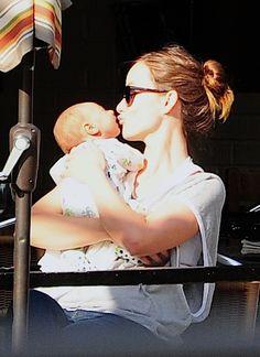 First Glimpse of Olivia Wilde's Son Otis - click through to see photos of Olivia with our Prezi!