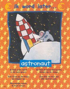 versje ik word later astronaut.