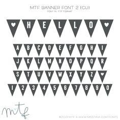 MTF Banner Font 2 {CU}