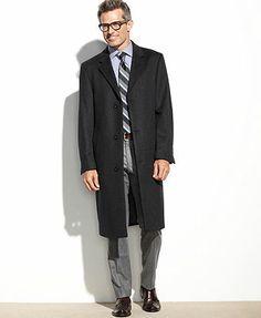 Izod Coat, Prospect Wool-Blend Overcoat