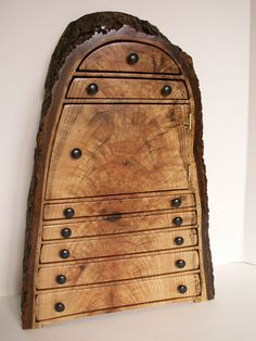 Oak Jewelry Cabinet... this guy makes some SERIOUSLY COOL stuff!