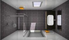 Badkamer ontwerpen b