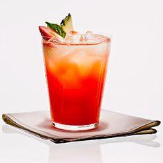 Strawberry-Basil Pineapple-Ade Recipe | MyRecipes.com