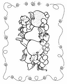 Fruit - Free Printable Coloring Pages