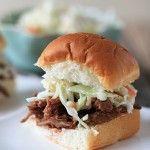 slider, pork recipes, bowl, sandwiches, bbq beef, food, barbecu, beef recip, slow cooker