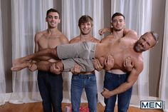 Stepfather Dirk Caber And His Stepsons