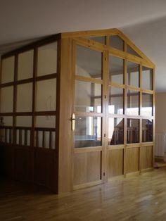 Bajo cubiertas 3 on pinterest - Cerramientos de escaleras ...