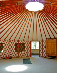 Looking forward to my over night stay in a yurt in Glastonbury