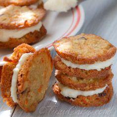 carrot cake cookies!