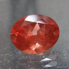 Terrific Red Schiller Faceted Oregon Sunstone by sparklequest, $199.00