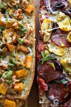 rustic pizza, foodi booti, breads, crazy food, pizza recipes